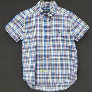 Ralph Lauren s/s plaid shirt